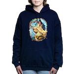 Hummingbird Dreamcatcher Women's Hooded Sweatshirt