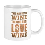 Wine Talking Mugs