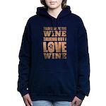 Wine Talking Hooded Sweatshirt