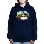 Dragon And Centaur Fairy Women's Hooded Sweatshirt