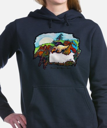 Dragon And Centaur Fairy Women's Hooded Sweatshirt