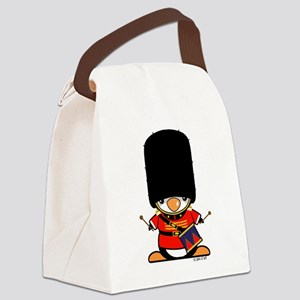 Nutcracker Penguin Canvas Lunch Bag