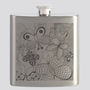 Butterfly Patterns Flask