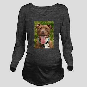 Pit Bull 13 Long Sleeve Maternity T-Shirt