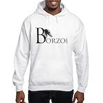 Borzoi Logo Hooded Sweatshirt