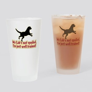 Spoiled Lab? - Drinking Glass