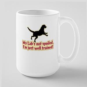 Spoiled Lab? - Large Mug