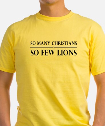 So Many Christians, So Few Lions T