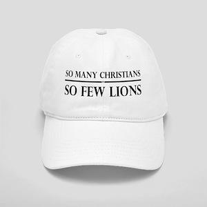 So Many Christians, So Few Lions Cap