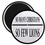So Many Christians, So Few Lions 2.25