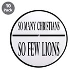 So Many Christians, So Few Lions 3.5