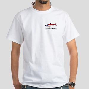 Patriotic Angler Shark T-Shirt
