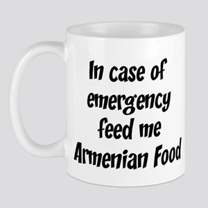 Feed me Armenian Food Mug