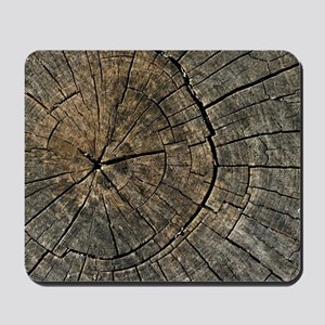 Wood Digital art Mousepad