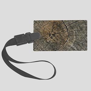 Wood Digital art Large Luggage Tag