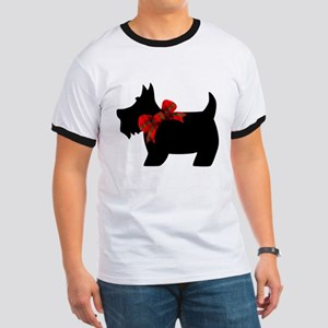 Scottie dog with bow T-Shirt