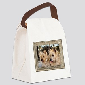 Darling Pair Canvas Lunch Bag