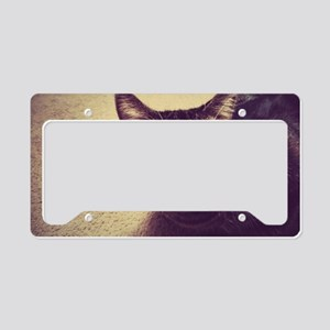 Meatball Kitty License Plate Holder
