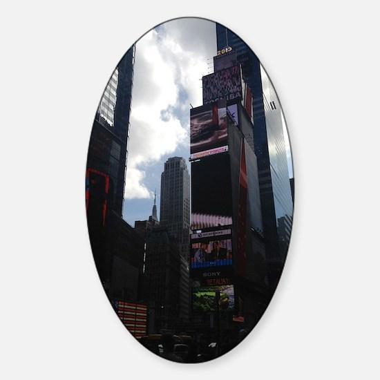 NYC Charm Sticker (Oval)