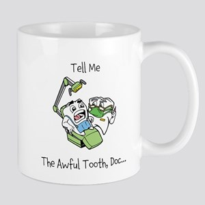 The Awful Tooth Mugs