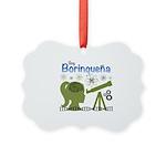 Borinquena Picture Ornament