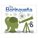 Borinquena Small Poster