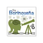 Borinquena Square Sticker 3
