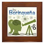 Borinquena Framed Tile