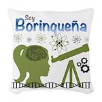 Borinquena Woven Throw Pillow
