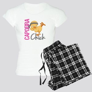 Capoeira Chick 2 Women's Light Pajamas