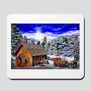 Christmas Then Mousepad