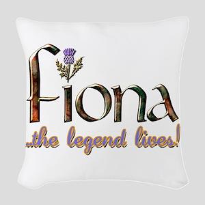 FionaLegend Woven Throw Pillow