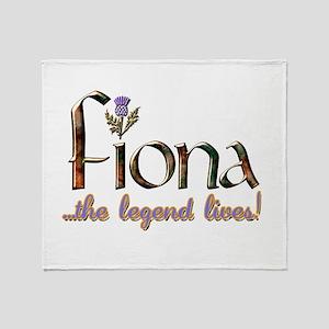 FionaLegend Throw Blanket