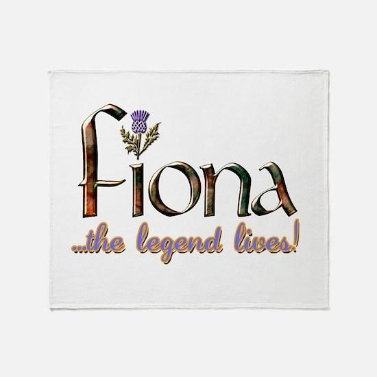 FionaLegend.png Throw Blanket