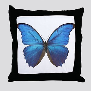 MORPHO DIDIUS D Throw Pillow