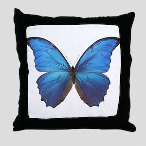 MORPHO DIDIUS D Throw Pillow