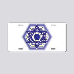 Layla Layla Star Aluminum License Plate