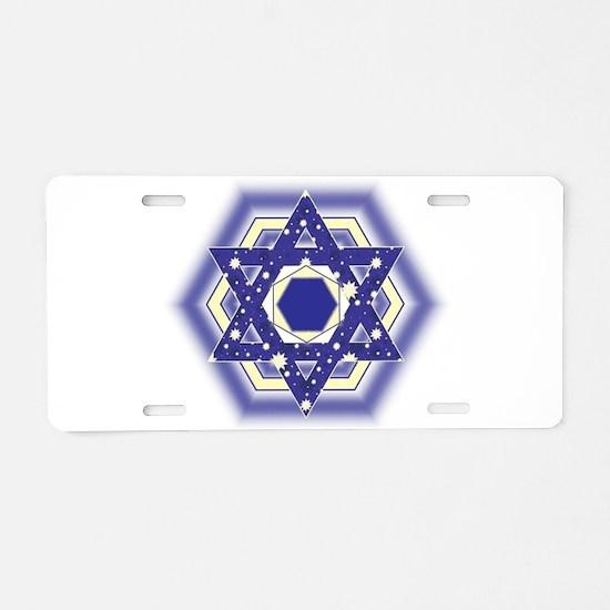 Layla Layla Star Aluminum License Plate