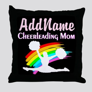 GO CHEERLEADING Throw Pillow