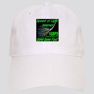 Speed of Light Internet Cap