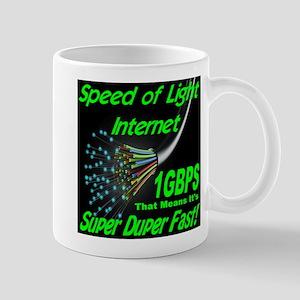 Speed of Light Internet Mug