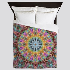 Aligning Purpose Mandala Queen Duvet