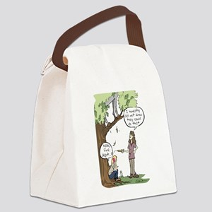 Needle Phobia Canvas Lunch Bag