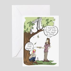 Needle Phobia Greeting Card