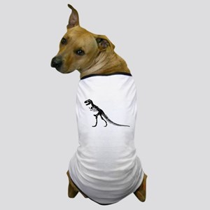 T-Rex Skeleton Dog T-Shirt