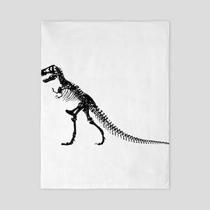 T-Rex Skeleton Twin Duvet