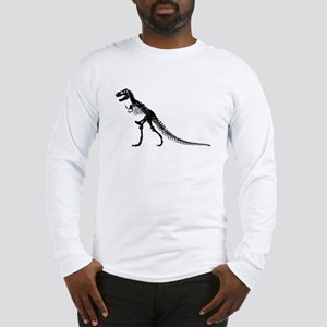 T-Rex Skeleton Long Sleeve T-Shirt