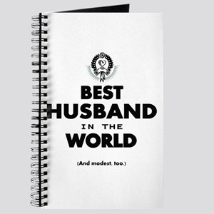 The Best in the World Best Husband Journal