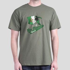 Algerian soccer Dark T-Shirt