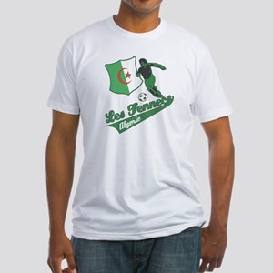 Algerian soccer Fitted T-Shirt